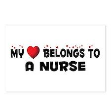 Belongs To A Nurse Postcards (Package of 8)