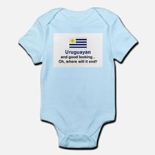 Gd Lkg Uruguayan Infant Bodysuit