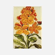 Wallflower by Merian Rectangle Magnet