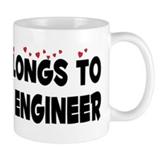 Belongs To A Nuclear Engineer Small Mug