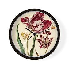 Tulip Diana by Merian Wall Clock
