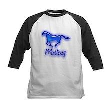 Galloping Blue Mustang Tee