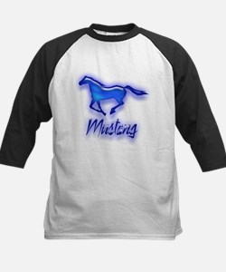Galloping Blue Mustang Tee