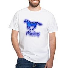 Galloping Blue Mustang Shirt