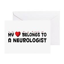 Belongs To A Neurologist Greeting Card
