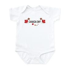 Canada Day Infant Bodysuit