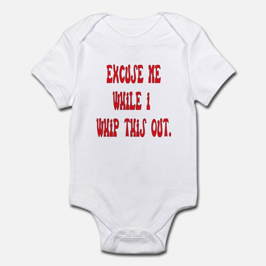 Whip this out Infant Bodysuit