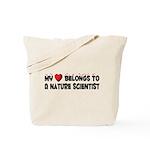 Belongs To A Nature Scientist Tote Bag