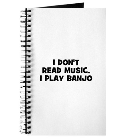 I don't read music, I play Ba Journal