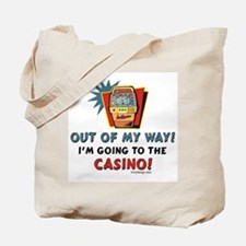 Out of my way! Tote Bag