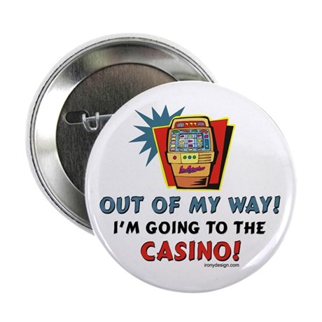 """Out of my way! 2.25"""" Button (10 pack)"""
