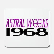 ASTRAL WEEKS 1968 Mousepad