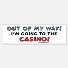 Casino Lovers Bumper Bumper Bumper Sticker