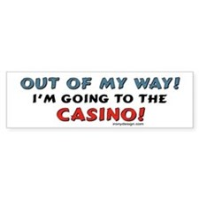 Casino Lovers Bumper Bumper Sticker
