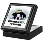 WHATEVER IT WAS -IM INNOCENT Keepsake Box