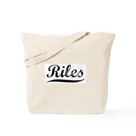 Riles (vintage) Tote Bag