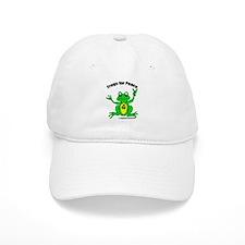 Peace Frog Baseball Baseball Cap