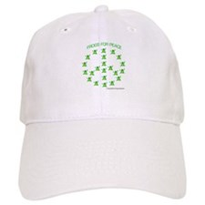 Frogs for Peace Baseball Baseball Cap