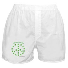 Frogs for Peace Boxer Shorts