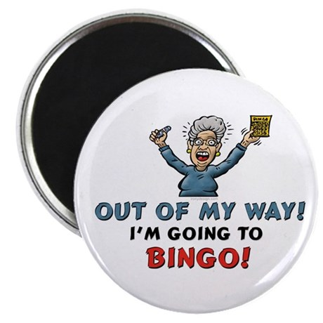 "BINGO!! 2.25"" Magnet (10 pack)"