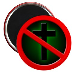 Dark No More Crucifix Magnet