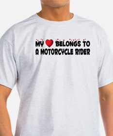 Belongs To A Motorcycle Rider T-Shirt