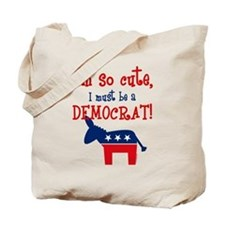 So Cute Democrat Tote Bag