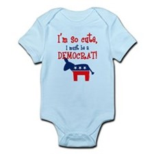 So Cute Democrat Infant Bodysuit