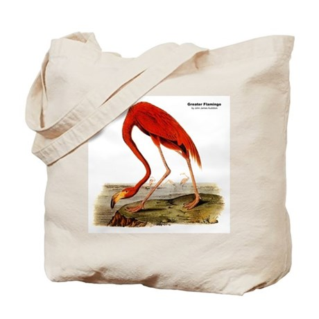 Audubon Flamingo Bird Tote Bag