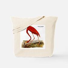 Audubon Flamingo Bird Tote Bag