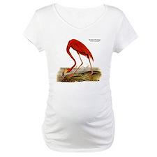 Audubon Flamingo Bird (Front) Shirt