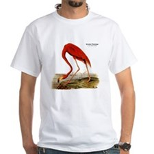 Audubon Flamingo Bird (Front) Shirt