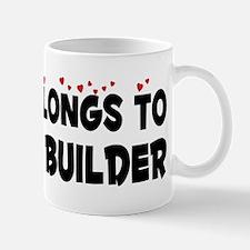 Belongs To A Model Builder Mug