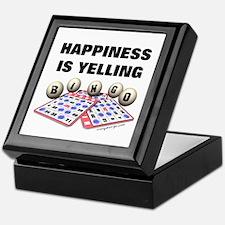 Happiness is Yelling Bingo! Keepsake Box