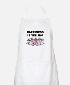 Happiness is Yelling Bingo! BBQ Apron