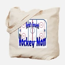 Greatest Hockey MOM Tote Bag