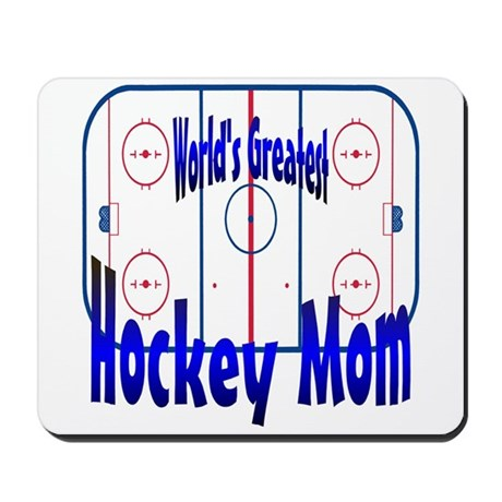 Greatest Hockey MOM Mousepad