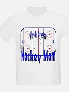 Greatest Hockey MOM Kids T-Shirt