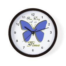 Funny Ats 3 Wall Clock