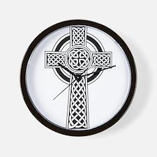Celtic Cross Wall Clock