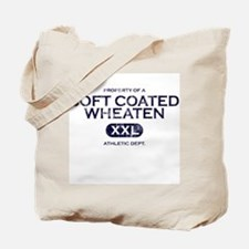Property of Soft Coated Wheaten Tote Bag