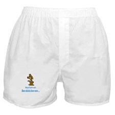 Bow chicka bow wow Boxer Shorts