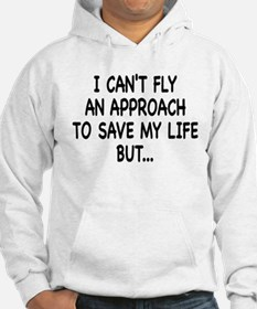 Cant Fly on front, FMC on bac Hoodie