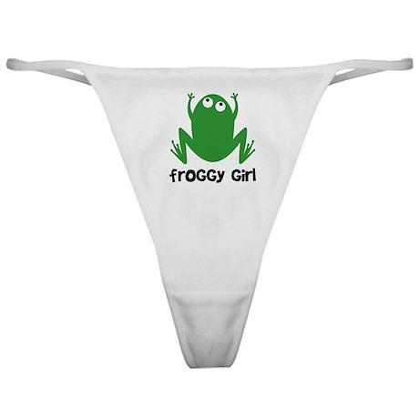 Froggy Girl Classic Thong