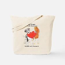Big Dogs Lil Horses Tote Bag