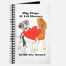 Big Dogs Lil Horses Journal