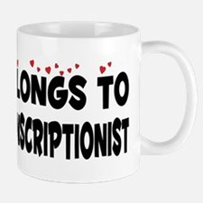 Belongs To A Medical Transcriptionist Mug