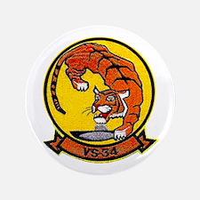 """VS 34 Tigers 3.5"""" Button"""