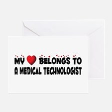 Belongs To A Medical Technologist Greeting Card