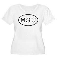 MSU Oval T-Shirt